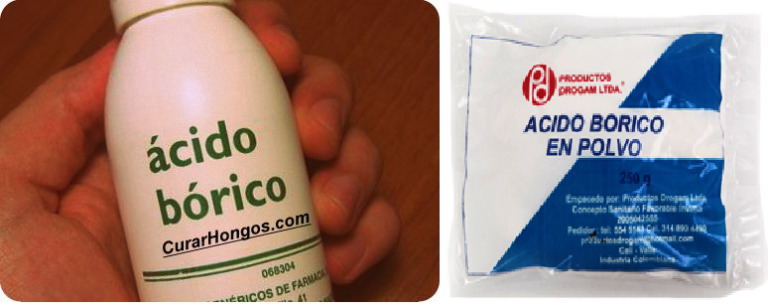 Acido Bórico - Veneno para Cucarachas
